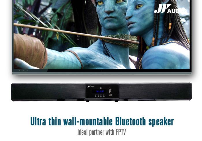 Abs Plasic Digital All-in-one Wireless Active Soundbar Speaker ...