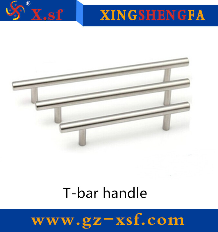Hollow or Solid Iron/Stainless Steel T Bar Drawer Cabinet Handle