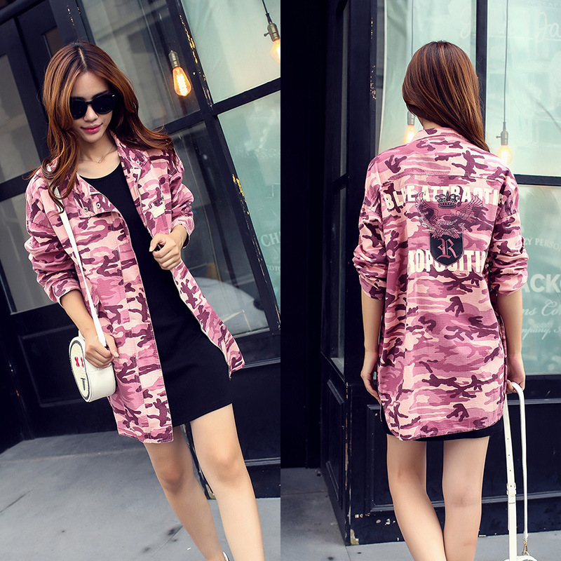 Compra rosa chaqueta de mezclilla online al por mayor de