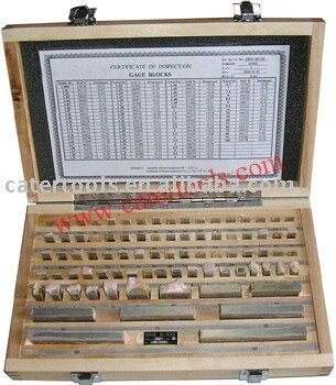 Carbide Gauge Block Set