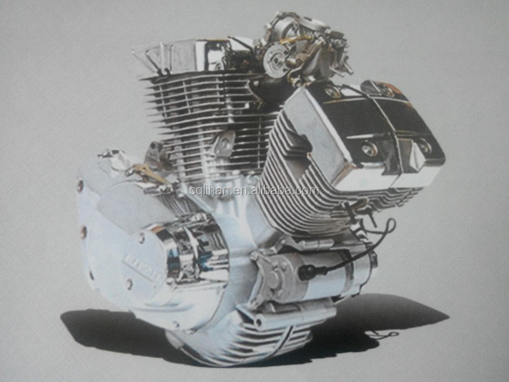 Genuine V Shape 2 Cylinder Manual Clutch Lifan 250cc Engine