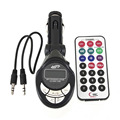 4 in1 LCD auto Car kit MP3 Player Wireless FM Transmitter Modulator with USB CD MMC
