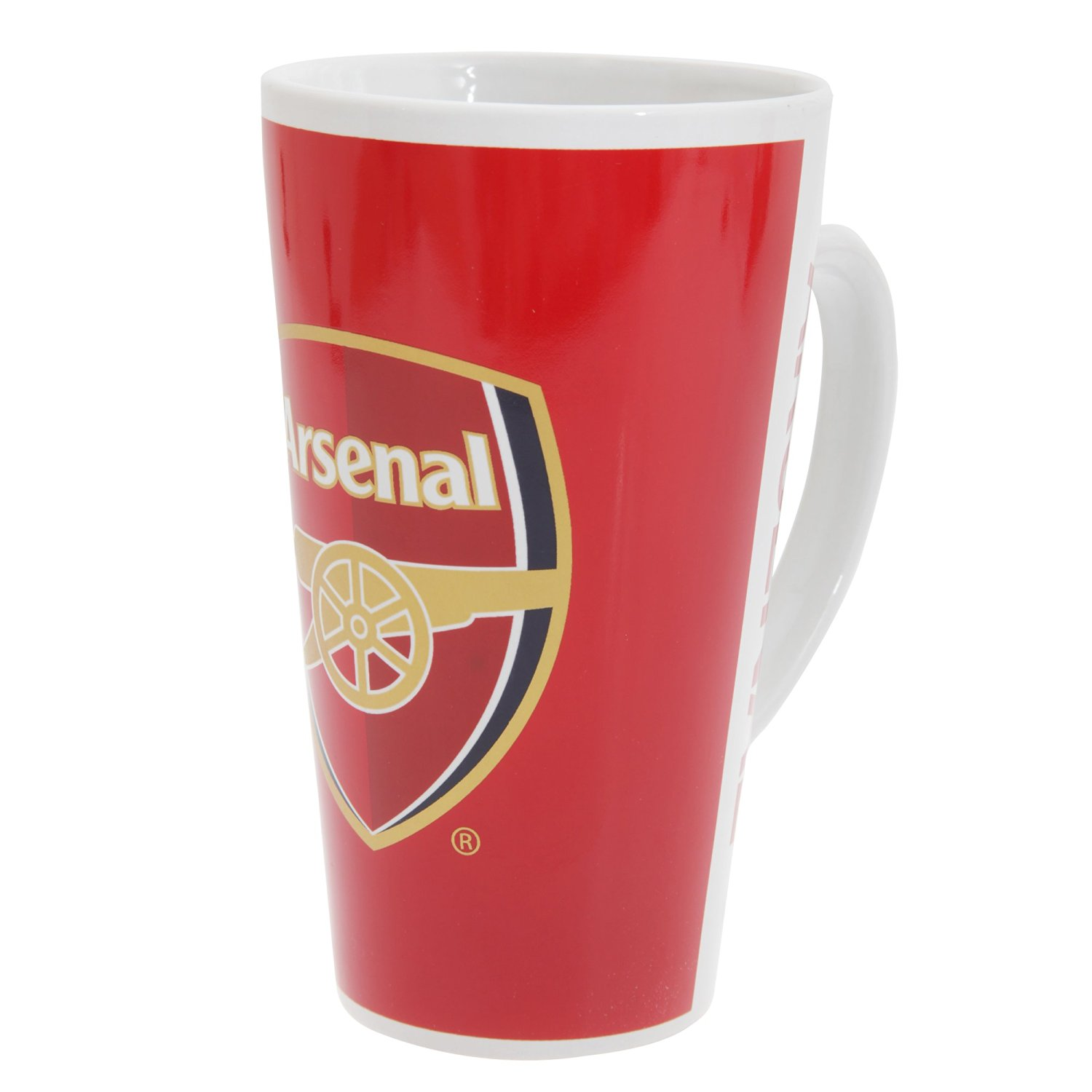 Official Arsenal FC Latte Mug with Crest
