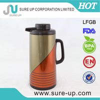 Glass liner thermos glass jug coffee maker elegant out look(JGBD-M)