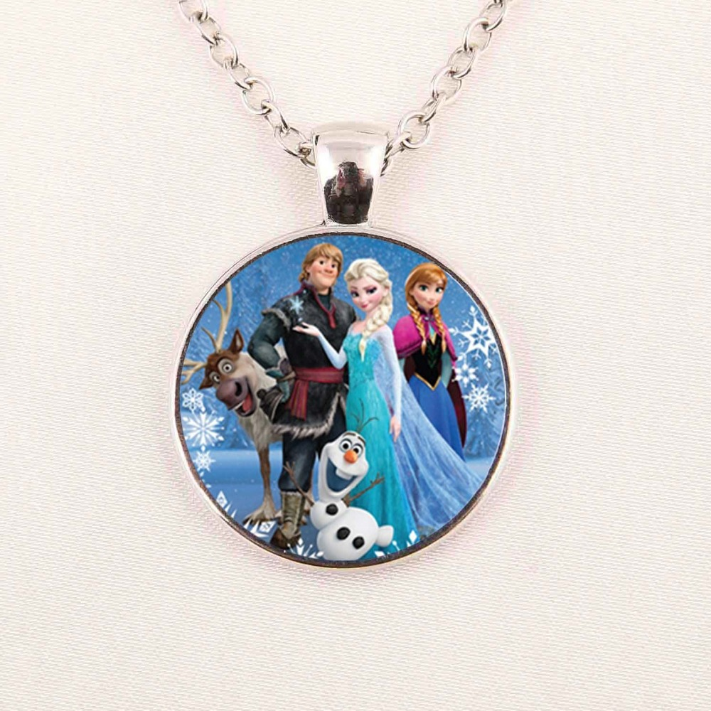 Snow Queen Diamontrigue Jewelry: 2016 New Fashion Snow Queen Necklace Dairy Queen Jewelry