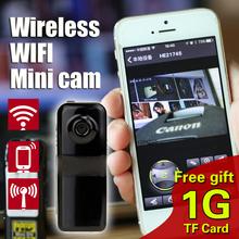 free gift 1G TF Card New MD81S Mini Camcorder/spy Wireless WiFi Camera Mini DV Micro IP Voice Video Recorder Espia hidden Cam
