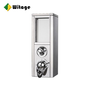 2019 hot selling custom high quality custom stainless steel silo storage coffee bean dispenser