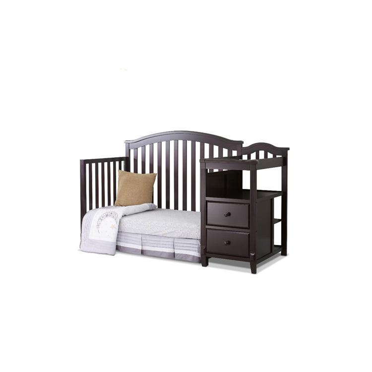 Fábrica Directamente Vivero Muebles Del Bebé Cuna 4 En 1 Madera Cuna ...