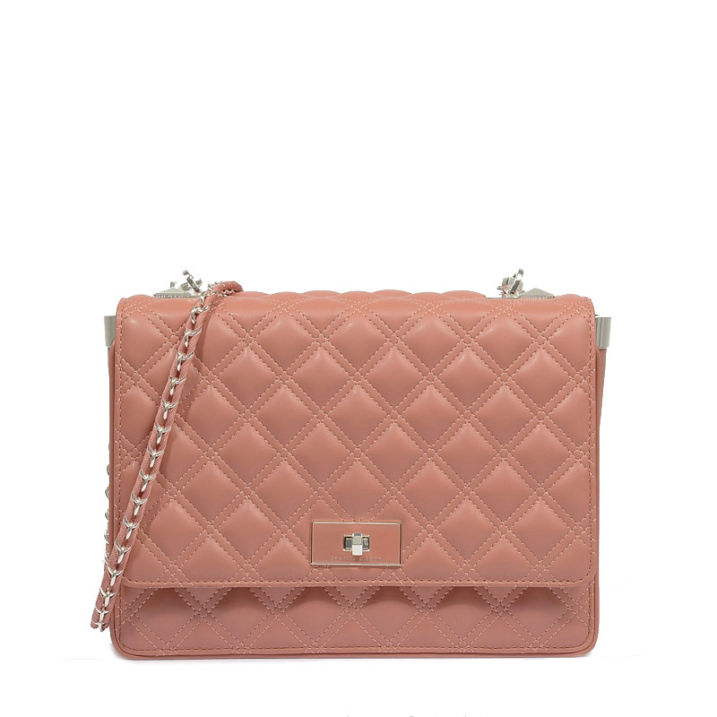 AD386 geometric checkered quilted solid pu leather Women lady girl crossbody messenger bag day clutch shoulder bag  singapore