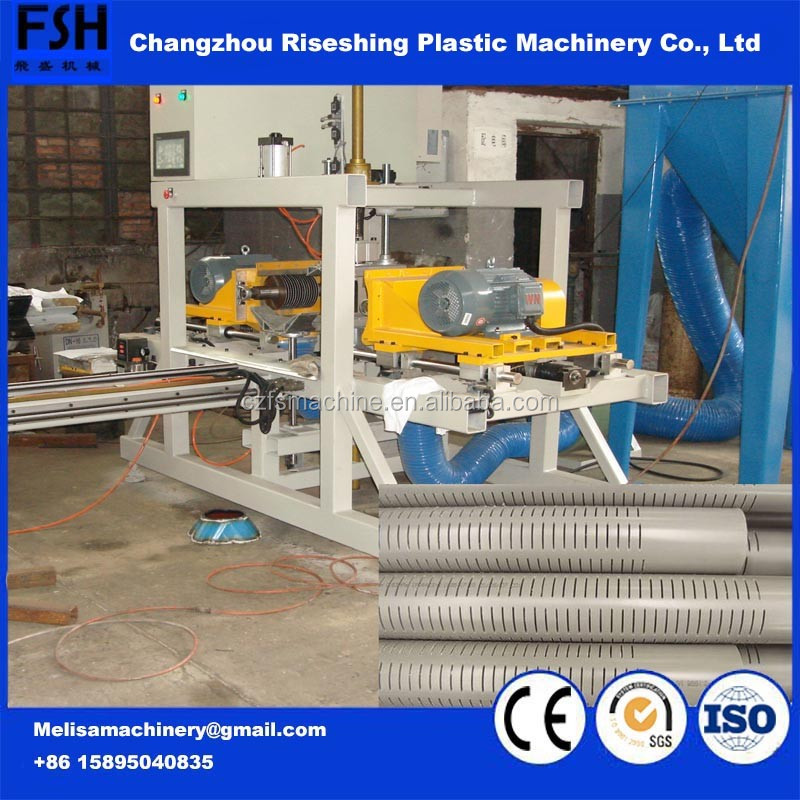 PP/PVC/UPVC/PE v-wire reverse rolled water well screen filter pipe Machinery