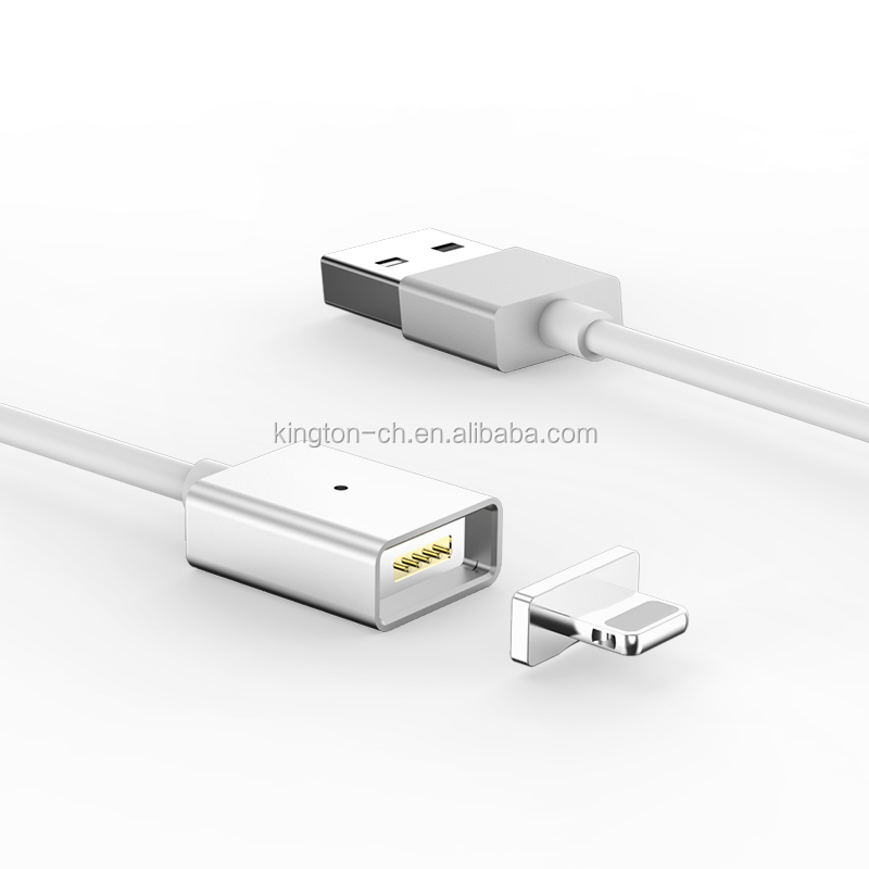 USB 3.0 fast magnetic charging cable support positive and negative connection