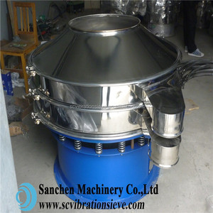 Hot selling industrial rotary 1500mm vibrating grading tomato juice sieve