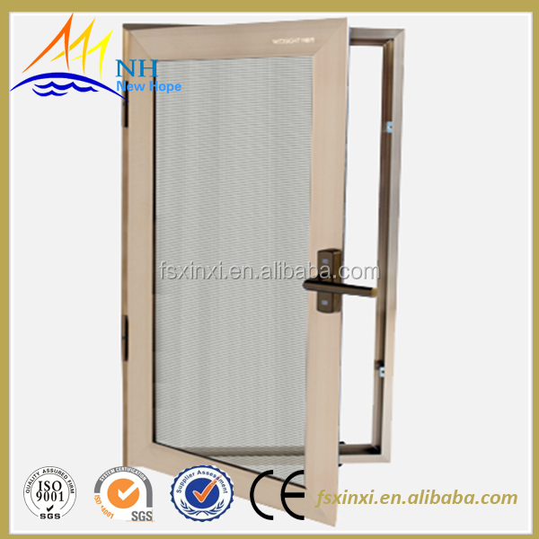 top brand decorative swing window screen design pull in window