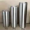 15oz wine tumbler stainless steel skinny tumblers double wall insulated straight water cups wine tumbler with lids and straws