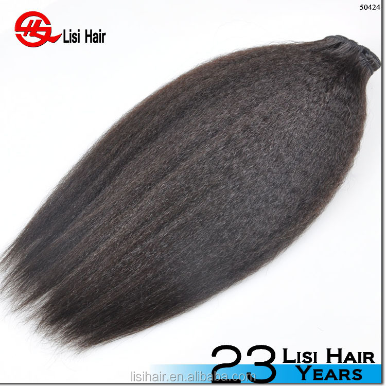 YBY 100% Human hair,High quality Real mink hair extension,raw unprocessed juliet virgin hair