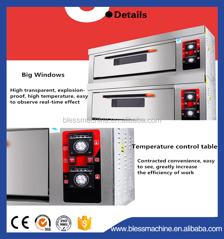 Energy Conservation up to 15% deck oven with steam with Service 24 hours