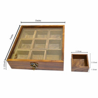 2016 wholesale handmade High Quality Customized Made-In-China wooden spice box