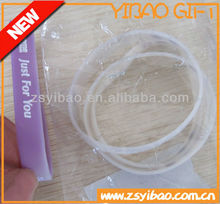 UV test silicone bracelet /wristband color change in sunshin