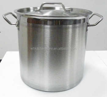 Commercial Stainless Steel Capsule Induction Bottom Cookware