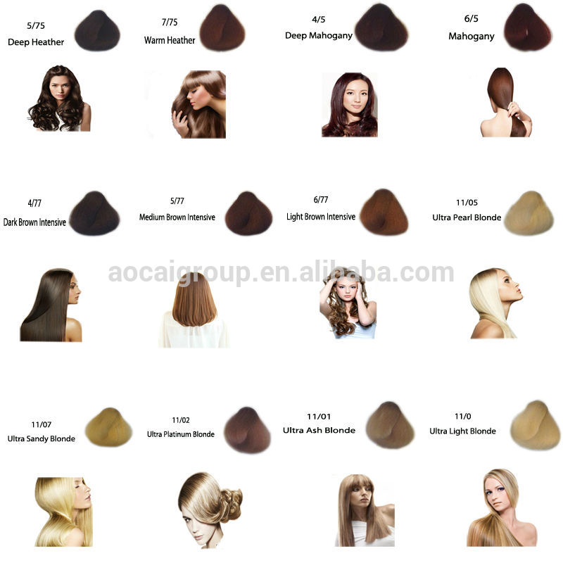 European Organic Hair Color Brand Whole Salon Permanent Dye