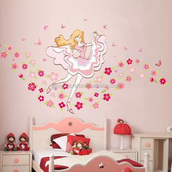 a gadis bedroom stiker bunga stiker hijau ruang tamu dekorasi