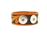 Handmade French Leather Bracelet/Hand Tooled Leather Bracelet/Ornate Leather Bracelet/Boho Leather Bracelet/Boho Jewelry