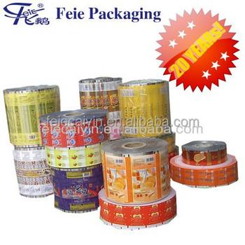 Roll Stock Plastic Printing Packaging Film