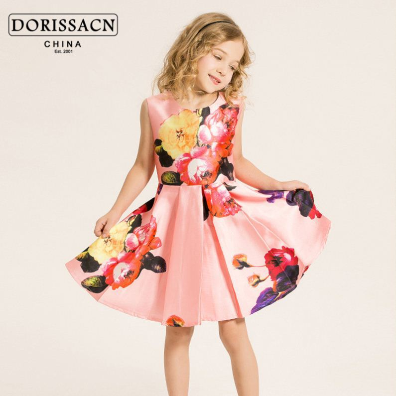 29c928a396b9 Casual Guangzhou Baby Clothes Fluffy Children Dress Prong Snap ...