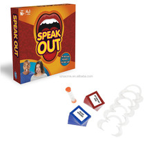 Speak Out Game Best Selling Board Game Popular Halloween Christmas Gift Party Game