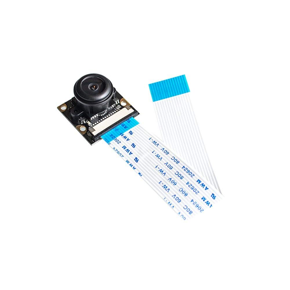 Hot Raspberry Pi 3 Night Vision Camera Module Focal Adjustable 5MP OV5647 Sensor 1080p Raspberry Pi 2 Camera with 15cm FPC Cable