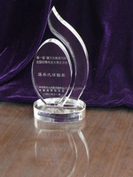 factory offer crystal new crystal award,glass award for sale