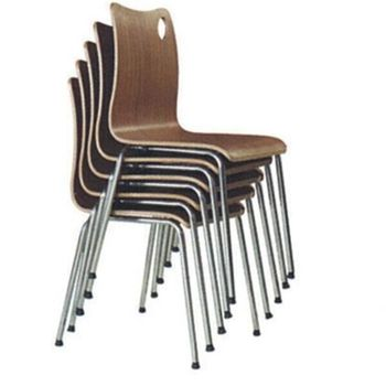 Cheap Restaurant Bent Plywood Stacking Chairs For Sale CA91