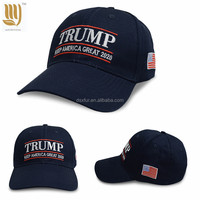Wholesale Cheap Price Trump 2020 Sport Cap Customized Election Cap Embroidery Logo Baseball Cap