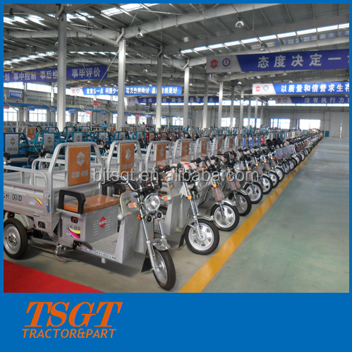 EV tricycle for goods/cargo transport China factory supply witout cabin