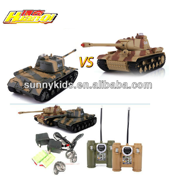 Huanqi Rc Toy Infrared Rc Tanks (twin Pack)rc Battle Tank Rc 529 ...