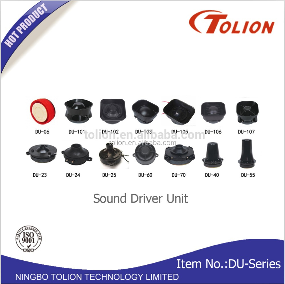 Ahuja Driver Unit /Horn Speaker /Security Alarm Siren