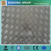 CE ISO Certification China manufacturer 5052 Aluminum Checker Plate Price