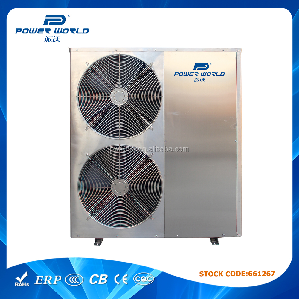 30KW Stainless steel swimming Pool jacuzzi heat pump Water Heater for Water Heating or Water Cooling