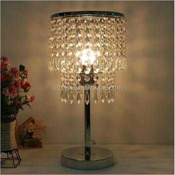 Modern Cordless Crystal Chandelier Table Lamp Buy Crystal