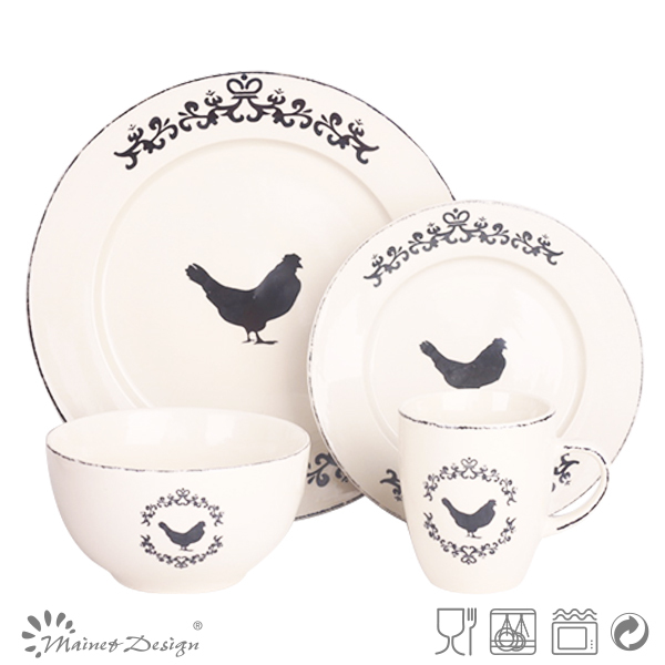 2015 Hot sell stoneware china vintage style unique dinner setst& chicken dinner set  sc 1 st  Alibaba & 2015 Hot Sell Stoneware China Vintage StyleUnique Dinner SetStamp ...
