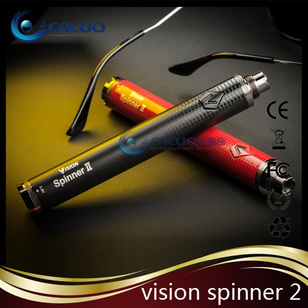 Top selling 1650mah vision spinner 2 battery, vision vaporizer
