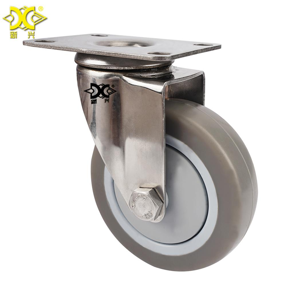 4d3f8f474718 4 Inch Pvc Swivel Caster Industrial Steel Plate Swivel Roller Wheels For  Trolley Cart - Buy Swivel Plate Caster Wheel,Pvc Trolley Cart Roller ...