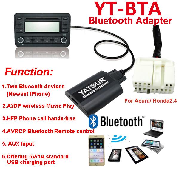 Yatour Car Radio Blueotooth Digital Music Player/phone