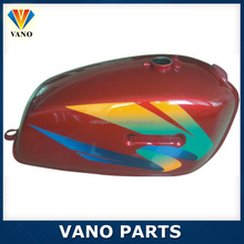 Anodized different color RX100 motorcycle fuel gas tank