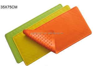 Promotional natural rubber vogue bath tub mat