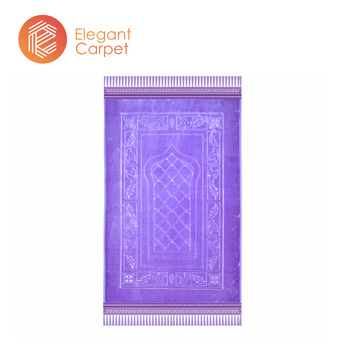portable embossed compound prayer mosque muslim carpet for dubai
