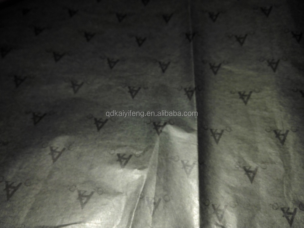 Custom Design Tissue Paper/Gift Wrapping Paper/Black Tissue Paper