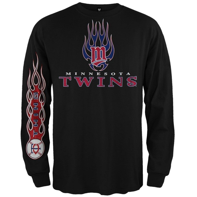 Get Quotations · Minnesota Twins - Heaters Long Sleeve T-Shirt 67ed08a53