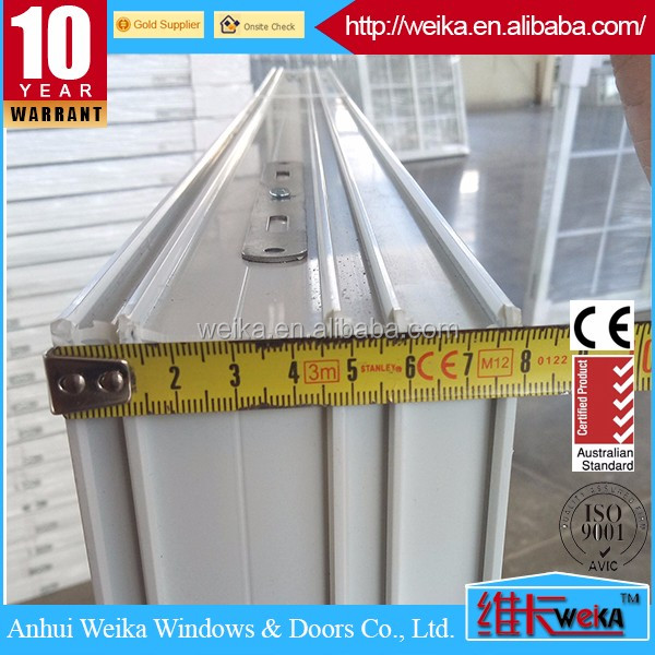 UPVC Profile Screen Sash For Plastic Sliding Windows