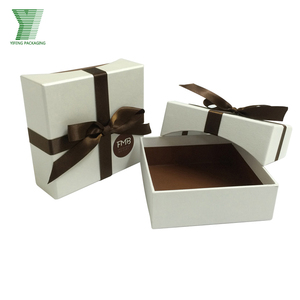High quality custom bow tie gift packaging cardboard paper box